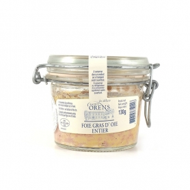 Goose Foie gras entier (glass), 130 gr
