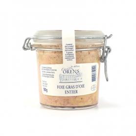 Foie gras entier d'oie en verre, 180 gr - Les Delices Saint Orens