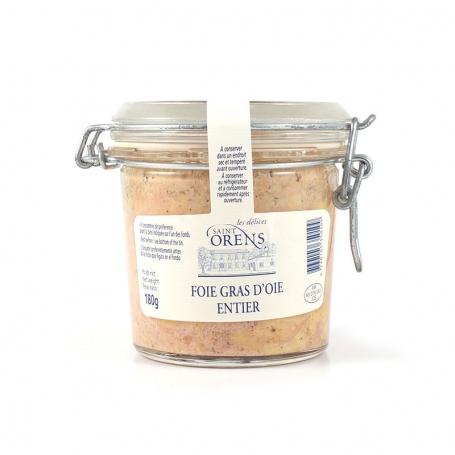 Foie gras entier d'oie, 180 gr - Jeanne Bertot