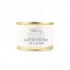 Bloc de foie gras de canard, 160 gr - Les Delices Saint Orens