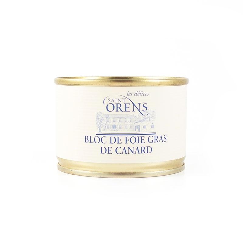Bloc de foie gras de canard, 200 gr - Jeanne Bertot