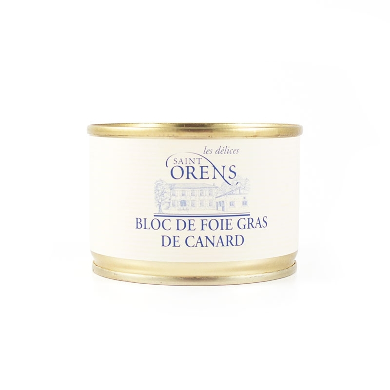 Bloc de foie gras de canard, 100 gr - Jeanne Bertot