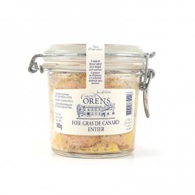 Foie Gras de Canard entier en verre, 180 gr - Les Delices Saint Orens
