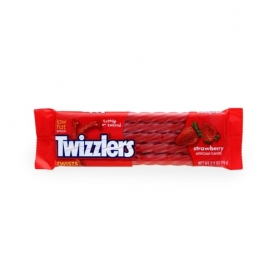 Twizzlers Strawberry - Caramelle gusto fragola, 70 gr
