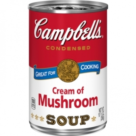 Campbell's Cream of Mushroom, 380 ml - Campbell's Soup