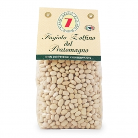 Sulfur beans from Pratomagno, 400 gr. - Lands of Zolfino
