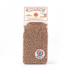 Semi-pearled spelled, 500 gr - Azienda Agricola Paoletti