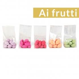 Goût - Testeur de confettis, 5 x 50 gr - Avec des fruits