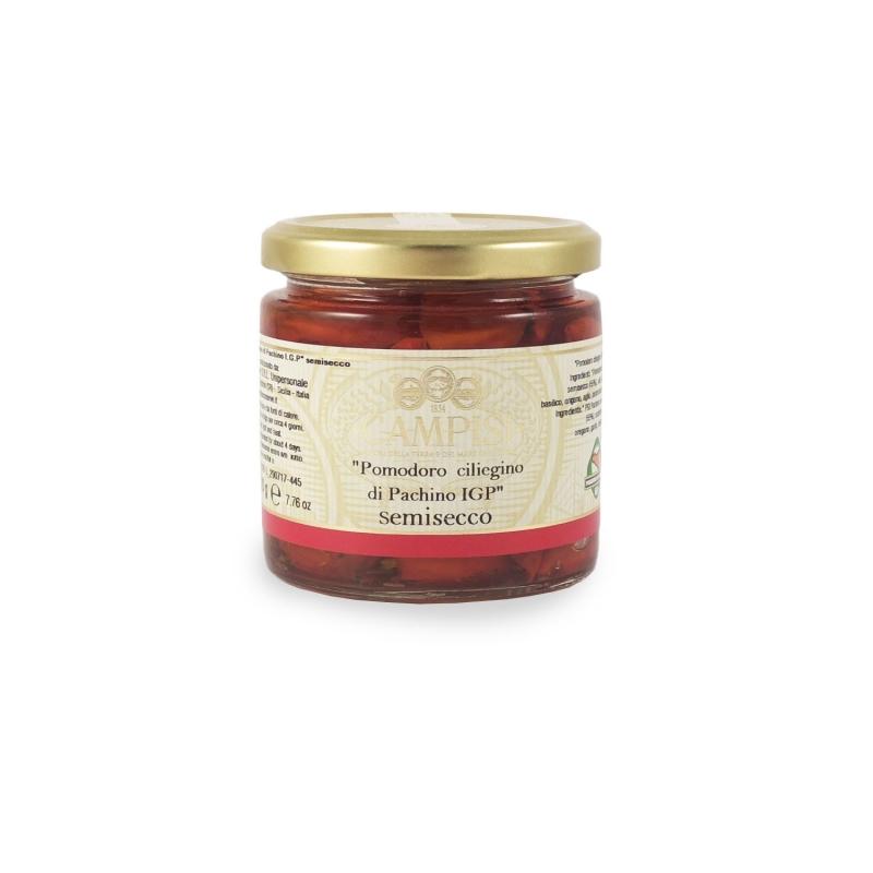 Cherry tomato Pachino PGI Semisecco, 220 gr - Campisi