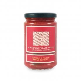 Ready peeled tomatoes Bio, 300 g - Petrilli - Pomodori interi e tagliati