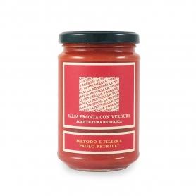 Sauce mit Gemüse, 300 Gramm. - Paolo Petrilli