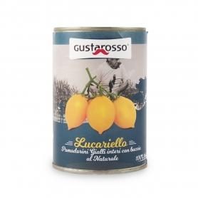 Pomodorino Lucariello al naturale, 400 gr - Gustarosso