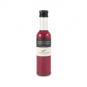 Wine vinegar from juniper barrels, 250 ml - Acetaia San Giacomo
