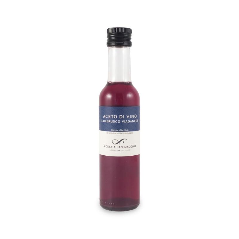 Aceto di vino Lambrusco viadanese, 250 ml - Acetaia San Giacomo
