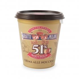 "Spread the hazelnuts ""Tonda Gentile"" of Piedmont, 200 gr - Baratti & Milano"