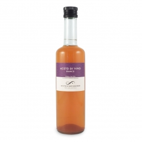White wine vinegar, 0.5 l - San Giacomo Vinegar