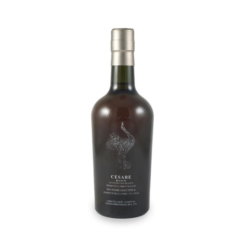 Aceto di vino bianco, l 0.50 - Cesare Giaccone