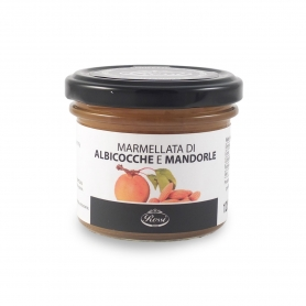 Apricot and almond jam, 120 gr - Rossi 1947