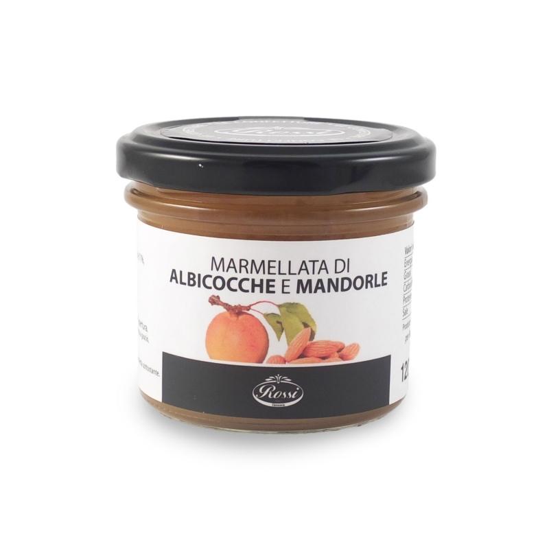 Marmellata di albicocche e mandorle, 120 gr