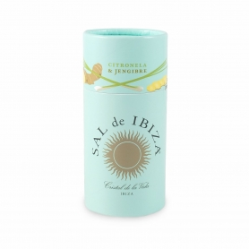 Sea salt with ginger and citronella, 100 gr - Sal de Ibiza