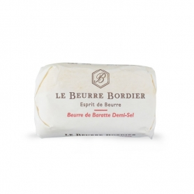 Demi-sel barrel butter, 125 gr x 4 pieces - Le Beurre Bordier