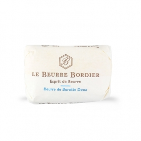 Sweet butter baratte, 125 gr x 4 pieces - Le Beurre Bordier