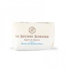 Beurre de Baratte doux, 125 gr x 4 pièces - Le Beurre Bordier
