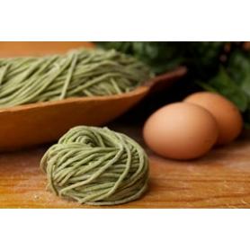 Taglierini freschi agli spinaci, 1 Kg