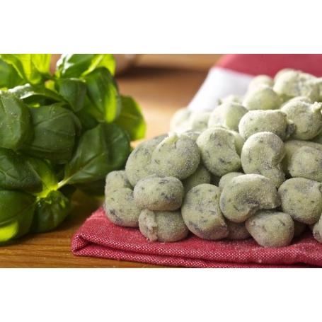 Gnocchetti al basilico, 1 Kg - Pasta fresca
