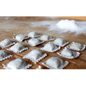 Meat and preboggion whole ravioli, 1kg