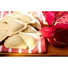 Tortelli with radicchio, 1 kg