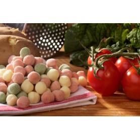 Chicche di patate, spinaci e pomodoro, 1 Kg
