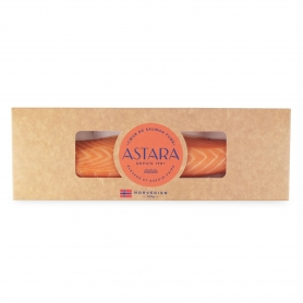 whole smoked Norwegian salmon heart, 130 gr - Astara