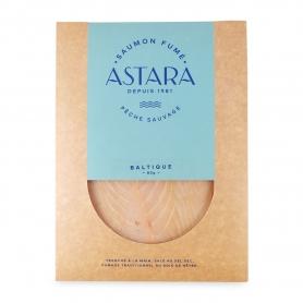 "Saumon sauvage ""blanc"" Baltique enveloppe 2 tranches, 80 gr - Astara"