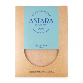 "Wild Salmon ""white"" Baltic envelope 2 slices, 80 gr - Astara"