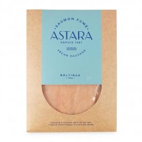 """Wildlachs """"weiß"""" von der Ostsee, 160 gr, von Hand in Scheiben geschnitten - Astara"""