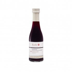 Mountain apple and elderberry juice, 200 ml - Kohl