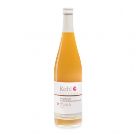 Mountain apple and peach juice, 750 ml - Kohl