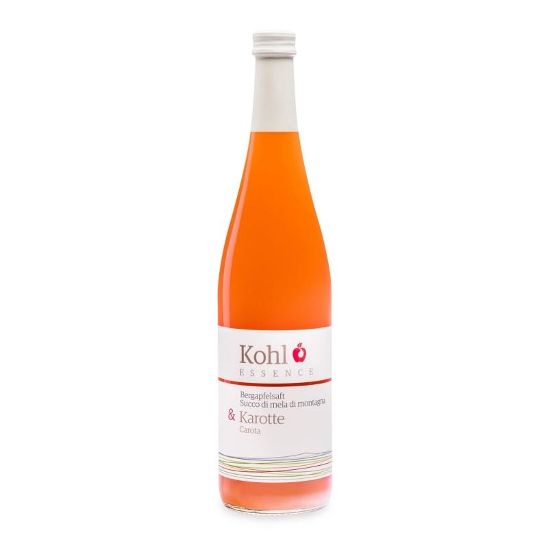 Succo di mela di montagna e carota, 750 ml - Kohl