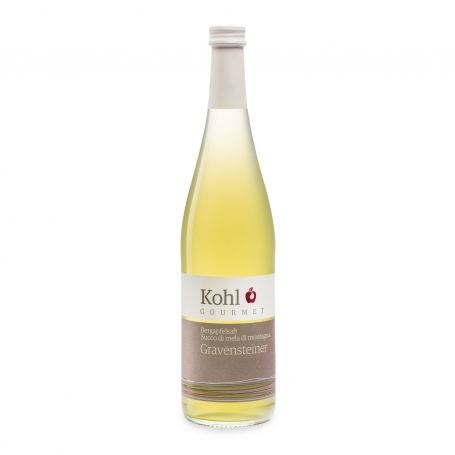 Juice of mountain apple varieties Gravensteiner - Alto Adige, 750 ml