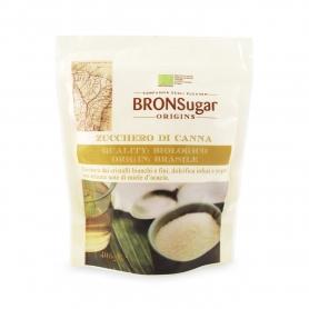 Zucchero di canna biologico origine Brasile, 400 gr - BronSugar