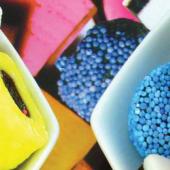 Réglisse et fruits confits