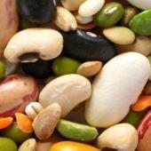 Leguminosen und Getreide
